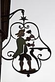 Pentes de la Croix Rousse , handicraftsman sign, Lyon, Rhone Alps,  France