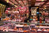 Les Halles de Lyon Paul Bocuse , Gourmet market,  Lyon, Rhone Alps,  France