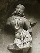 A sculpture in Bhuleshvar Temple (A Temple of Pandav Era) near pune (about 50 km), Maharashtra.