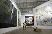 Manuel Felguerez abstract art museum. Zacatecas. Mexico