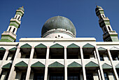A Moslem house of worship