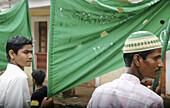 Panjim Goa, India, Muslims during the Jashn-Eid-Milad Un Nabi feast, to commemorate prophet Mohammeds birth