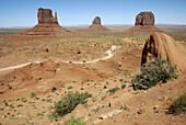The Monument Valley Arizona-Utah