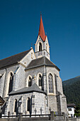 Church Stand. Valley Inn. Austrian Tyrol. Tyrol. Austria. Europe.