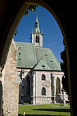 Gothic church of Schwaz. Valle Inn. Austrian Tyrol. Austria. Europe.