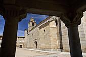 Sixteenth-century Gothic church, San Felices of Gallegos, Natural Park Arribes del Duero, Salamanca, Castilla y Leon, Spain, Europe.