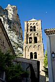 Moustiers de Sant Marie in the Regional Natural Park of Verdon, Canyon of the Verdon Gorges, the High Alps of Provence, Alpes de Haute-Provence, Provence, France.