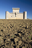 Castle Villalonso, in the province of Zamora. Castilla y Leon. Spain. Europe.