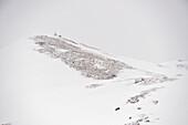 Snow-covered mountain, Hintertux, Tyrol, Austria