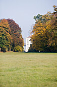 Nymphenburg palace in autumn, Munich, Bavaria, Germany
