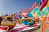 Fairground ride, Oktoberfest, Munich, Bavaria, Germany
