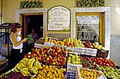 Delicatessen, Vernazza, Cinque Terre, Liguria, Italian Riviera, Italy, Europe
