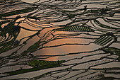 Dramatic landscape in YuanYang, Yunnan, China