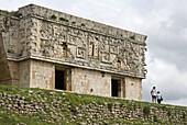 Mayan ruins. Puuc Road. Uxmal. Yucatan. Mexico.