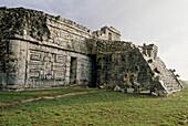La Iglesia' temple, Mayan ruins of Chichen Itza. Yucatan, Mexico