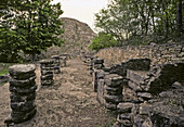 Mayapán pre-Columbian Maya site. Yucatán, Mexico