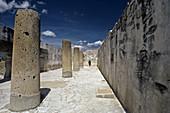 Mitla archaeological site. Oaxaca, Mexico