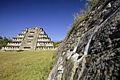 El Tajín pre-Columbian archaeological site. Veracruz, Mexico