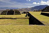 Teotenango pre-Columbian archaeological site. Hidalgo, Mexico