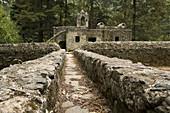 Ex-convent of Carmelite friars, Desierto de los Leones National Park. Mexico D.F, Mexico