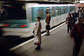 Underground, Saint_Lazare station, Paris, France