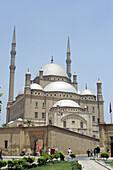 Mohammed Ali mosque (Alabaster mosque) on top of Salah Aldin citadel, Cairo. Egypt