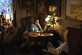 Niebieskie Migdaly tea room, Lodz, Poland
