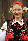 Traditional costume, Lipce Reymontowskie, Poland