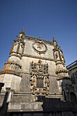 Manueline Window, Convento de Cristo UNESCO world Heritage, Tomar, Ribatejo, Portugal