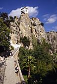 Guadalest. Alicante province, Comunidad Valenciana, Spain