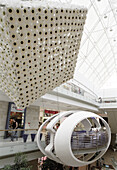 Inside the Europa Shopping Center, Vilnius, Lithuania
