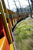 Train, Vienna Prater, Amusement Park, Vienna, Austria