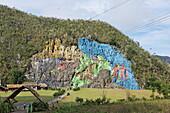 Mural de la Prehistoria, Vinales, Pinar del Rio, Cuba, West Indies