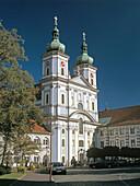 Church and monastery of Waldsassen,  Upper Palatinate,  Bavaria,  Germany