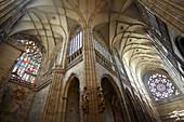 St. Vitus cathedral, Prague Castle, Prague, Czech Republic