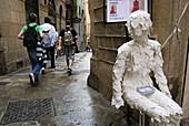 Baixada de Santa Eulalia, The Major Call, Medieval Jewish Quarter, 12th-14th centuries, Barcelona city, Catalonia, Spain