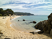 Beach, Calonge. Girona province, Catalonia, Spain