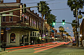 Ybor City, Tampa, Florida. Street scenes in Historic Dowtown, 5th and 6th Aves.