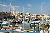 Port old city acco. Israel.