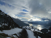 America, Andes, Argentina, Clouds, Cordillera, Del, Earth, End, Eternal, Fire, Garibaldi, Landscape, Month, Months, Of, Panoramic, Patagonia, Peak, Peaks, Snow, Snow-capped, Snowy, South, Southern, Step, Sunrise, The, Ushuaia, View, World, XC8-764953, age