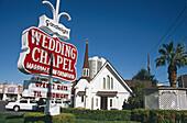 Candlelight Wedding Chapel, Las Vegas, Nevada, USA