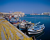 Harbour with Boats, Irakleion, Crete, Greek Islands