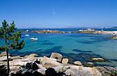 Cove, O Grove Peninsula, Galicia, Spain