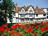 Town Scene, Canterbury, Kent, UK, England