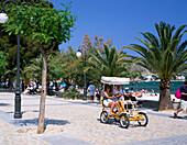 Promenade Scene, Port de Pollenca, Mallorca, Balearic Islands