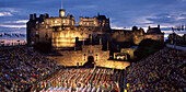 The Edinburgh Military Tattoo Year 2000, Edinburgh Castle, Lothian, UK, Scotland