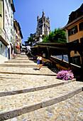 Quartier De La Cite, Lausanne, Vaud, Switzerland