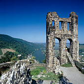 Ruined Castle Grevenburg, Traben-trarbach (Mosel Valley), Rhineland-palatinate, Germany