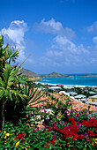 View of Bay, Orient Bay, St. Martin, Caribbean