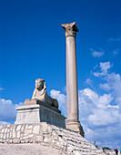 Pompeys Pillar, Alexandria, Egypt